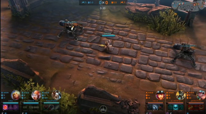 Vainglory Update reveal (27th of Match 2015)