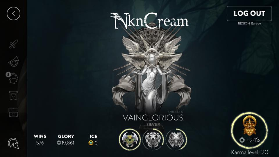 Vainglorious Silver tier art