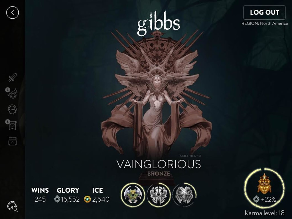 Vainglorious Bronze tier art