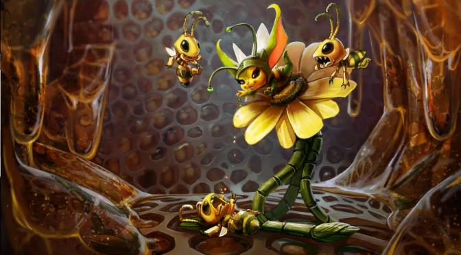 Bee / Bug Petal Skin
